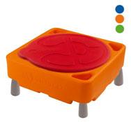 Gran mesa de actividades de agua y arena alto: 45 cm con tapa el conjunto