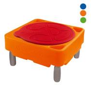Gran mesa de actividades de agua y arena alto: 56 cm con tapa el conjunto
