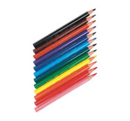 Lápices de colores ergonómicos ecolution triangle los 48