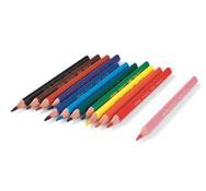 Lápices de colores ergonómicos ecolution triangle los 12
