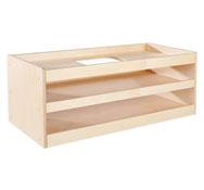 Mueble babi up abierto para componer la unidad