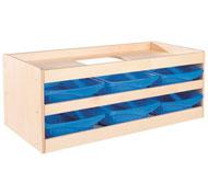 Mueble babi up abierto 6 cubetas el conjunto