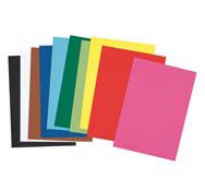 Hojas de papel de color 160 g lote de 25