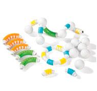 Construcción magnética grippies curvas 30 piezas lote de 30