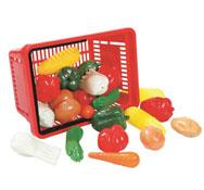 Cesta de frescos 27 verduras y hortalizas el conjunto