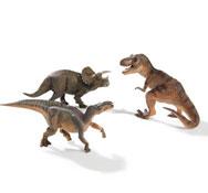 Figuritas los dinosaurios n.º 3 los 3