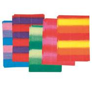 Hojas de papel de seda  multicolores los 50