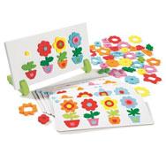 Macetas de flores magnéticas el juego