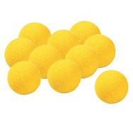 Kit de 10 bolas de ping pong de espuma los 10