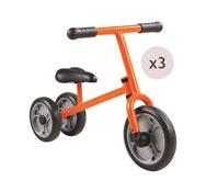 Juego de 3 bicicletas de aprendizaje 3 ruedas ozia los 3