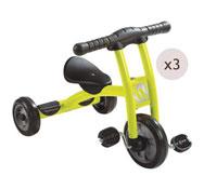 Lote de 3 triciclos mistral los 3