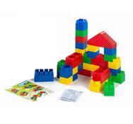 Maxi lote ladrillos de construcción gigantes y flexibles los 80