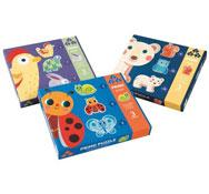 Maxi lote puzzles forma primo los 3