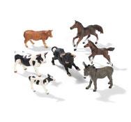 Figuritas los animales del prado los 7