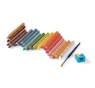 Lápices de colores 3 en 1 buddy los 18