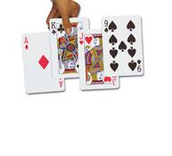 Juego de 54 cartas gigantes el juego