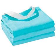 Servilletas de mesa tejidas con goma lote de 3