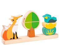 Puzzle magnético 3d el zorro el conjunto