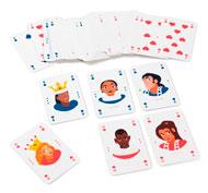 Juego de cartas batalla igualitaria el juego