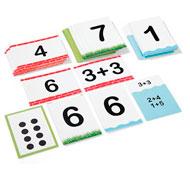Cartas de aprendizaje los números y su descomposición lote de 62