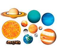 Sistema solar magnético el conjunto