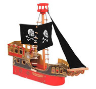 Barco de piratas la unidad