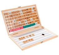 Caja de matemáticas magnéticas el conjunto