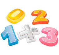 Cojín decorativo cifra 4 cojines cifras + signo el conjunto