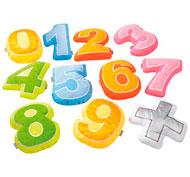 Cojín decorativo cifra 10 cojines cifras + signo el conjunto