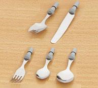 Cuchara/tenedor mango intercambiable de espuma Cuchara tenedor 20 g