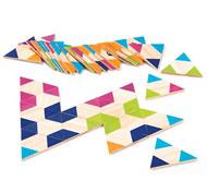 Dominós gigantes triángulos el juego