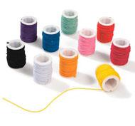 Bobinas de hilos elásticos de colores lote de 10