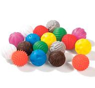 Bolas sensoriales táctiles set de 18 bolas lote de 18