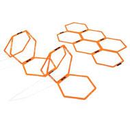 Aros hexagonales lote de 12