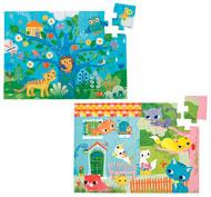 Maxi lote puzzles de animales lote de 5