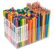 Estuche escolar 334 rotuladores y lápices de colores el conjunto