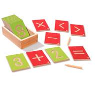 Números pedagógicos montessori el conjunto