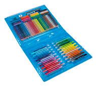 Caja de dibujo color'peps 100 piezas el conjunto