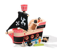 Barco pirata el conjunto