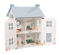 Casa de muñecas de madera el conjunto