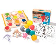 Kit sensorial táctil el conjunto