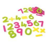 Números y signos de operación táctiles el conjunto