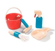 Kit de limpieza eco-responsable el conjunto