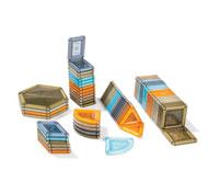 Juego de construcción magnético power clix   70 piezas lote de 70