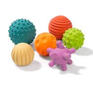 Pelotas sensoriales táctiles set de 6 pelotas lote de 6