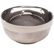Vajilla de acero inoxidable bol de acero inoxidable 40 cl la unidad