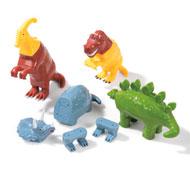 Animales magnéticos los dinosaurios el conjunto