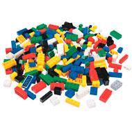 Ladrillos de construcción 300 piezas con caja el conjunto
