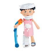 Maxi lote muñeca y accesorios heridas el conjunto