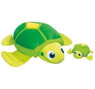 Cojines animales gigantes lulu la tortuga y su bebé el conjunto